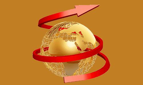 globe-red-arrow